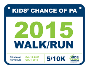 Kids' Chance 2015 Walk/Run logo
