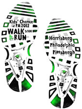 Kids' Chance Walk/Run logo