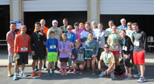 Photo of 2015 Walk/Run participants.